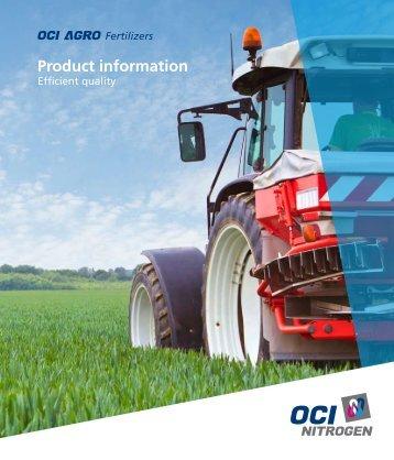 Product information - OCI Nitrogen