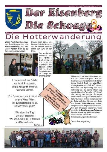 Vorschläge für Straßen und Gassennamen - Gemeinde Deutsch ...