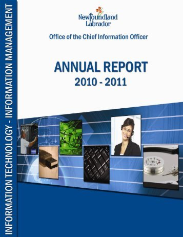 Annual Report 2010-11 - Office of the Chief Information Officer ...
