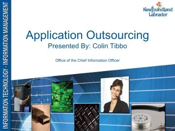 application deliverables - Office of the Chief Information Officer