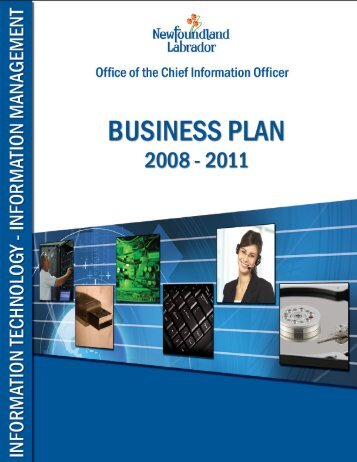 Business Plan 2008 - 2011 - Office of the Chief Information Officer