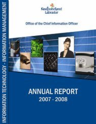 Annual Report 2007-08 - Office of the Chief Information Officer ...