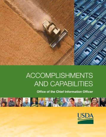 accomplishments and capabilities - Office of the Chief Information ...