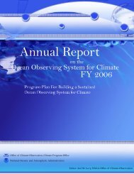 Untitled - Office of Climate Observation - NOAA