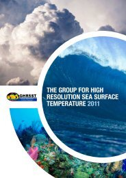 GHRSST brochure - Office of Climate Observation - NOAA