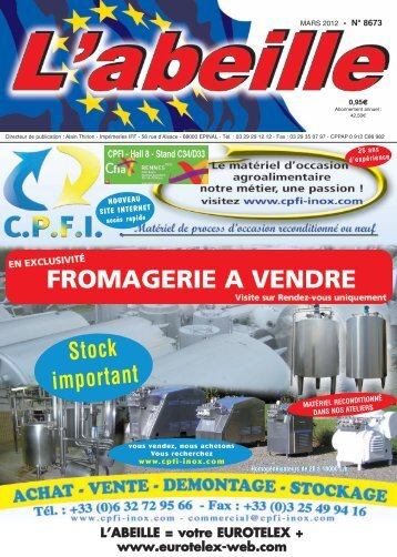 TELEX AGRO NATH - eurotelex-web.com