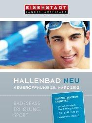 Hallenbad neu - Eisenstadt