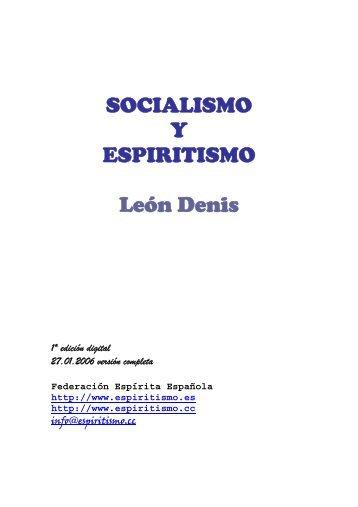 Socialismo y Espiritismo - O Consolador