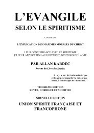 l'evangile selon le spiritisme - O Consolador
