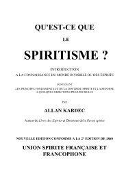 Qu'est-ce que le Spiritisme? - O Consolador