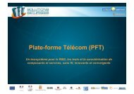 Plate-forme Télécom (PFT)