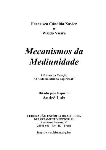 Mecanismos da Mediunidade - PINGOS DE LUZ