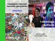 Voir ou Télécharger la présentation - forum OCOVA
