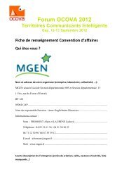 access MGEGN's Convention Form - forums OCOVA