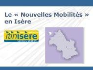 Le « Nouvelles Mobilités » en Isère