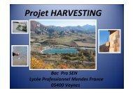 Projet HARVESTING