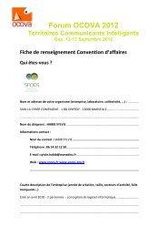 access SNOOS' Convention Form - forums OCOVA