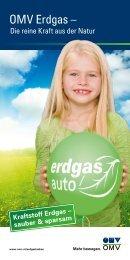 OMV Erdgas – - Erdgasautos