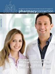 Pharmacy Technicians on the Road to Regulation Focus on ...