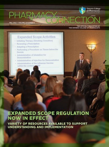 expanded scope regulation now in effect - Ontario College of ...