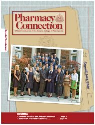 November • December 2005 - Ontario College of Pharmacists