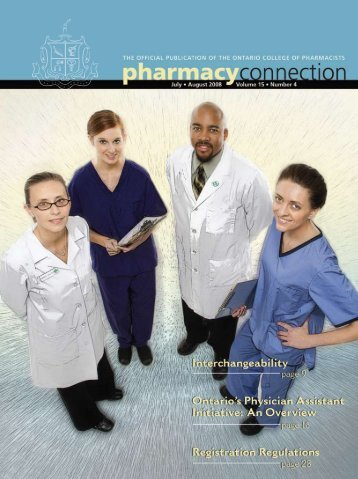 Council Members - Ontario College of Pharmacists