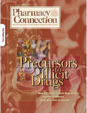 July • August 2003 - Ontario College of Pharmacists