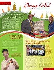 December 2009 - Orange County Public Schools