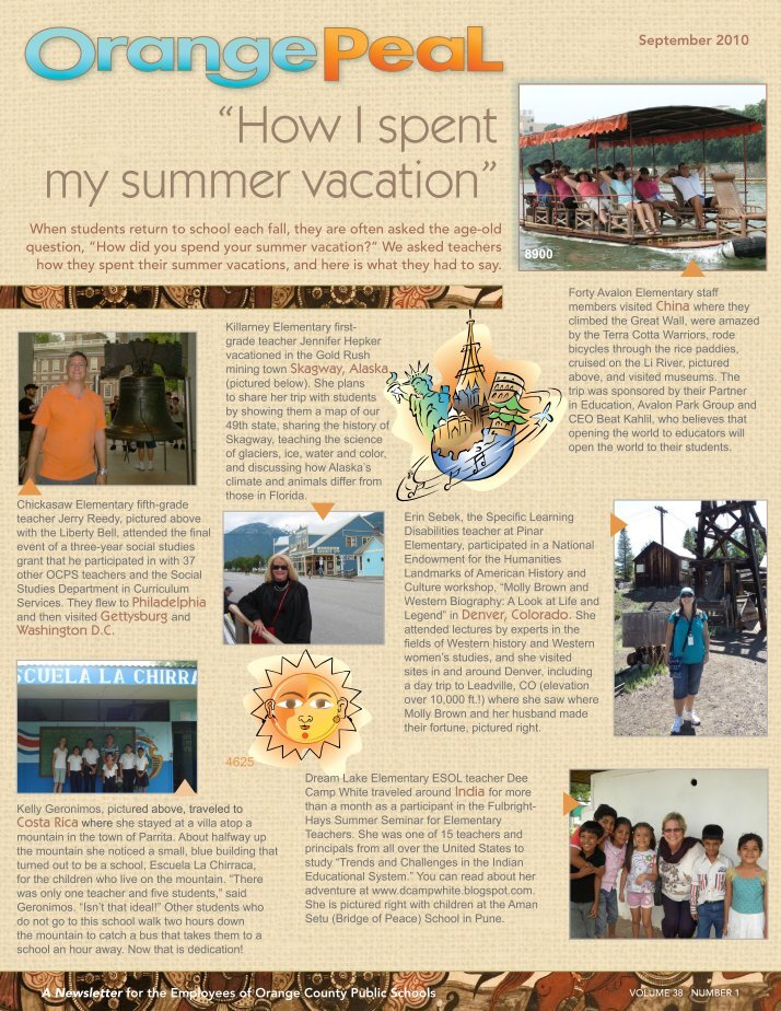 how i wish i spent my summer vacation essay An individual writes this essay from the first person perspective explaining in detail how they spent those summer days depending on if you just spent those lazy summer days basking in the sun, or if you were travelling the countries or europe, what you say, and the way you say things may very much differ.