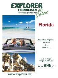 Florida Mietwagenrundreise - Explorer Fernreisen
