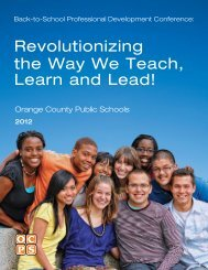 Revolutionizing the Way We Teach, Learn and Lead!