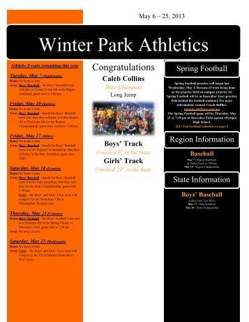 Winter Park Athletics