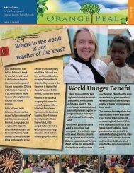 World Hunger Benefit - Orange County Public Schools