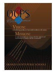 Intern Orientation - Orange County Public Schools