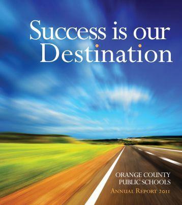 Annual Report 2011 - Orange County Public Schools