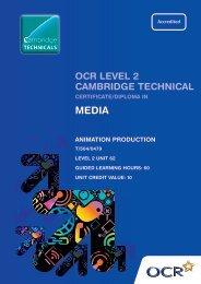 animation production - OCR