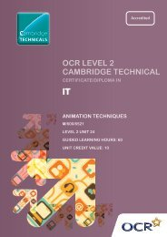 Level 2 - Unit 24 - Animation techniques (PDF, 2MB) - OCR