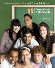 2008 CAFR - Orange County Public Schools
