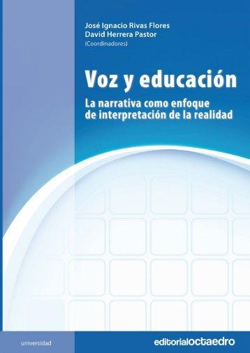 Voz y educación: La narrativa como enfoque de ... - Editorial Octaedro