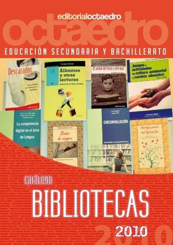 Catálogo BIBLIOTECAS 2010
