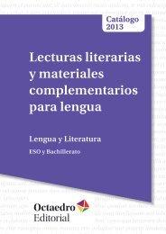 Lengua y Literatura - Editorial Octaedro