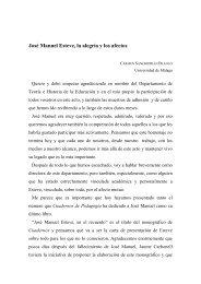 Homenaje a José Manuel Esteve
