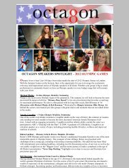 OCTAGON SPEAKERS SPOTLIGHT – 2012 OLYMPIC GAMES