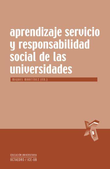 Aprendizaje servicio y responsabilidad social de ... - Editorial Octaedro