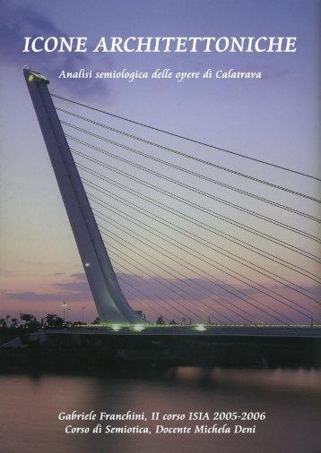 Icone architettoniche. Analisi semiologica delle opere di ... - Ocula