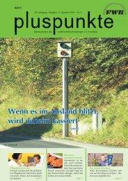 pluspunkte 2010 Nr. 3 - Familien-Wirtschaftsring eV