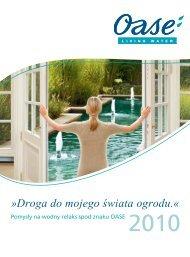 Katalog OASE 2010