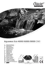 Aquamax Eco 4000/6000/8000 CWS - Oase