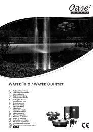 Water Quintet - instrukcja - Oase