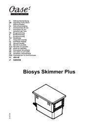Biosys Skimmer Plus - Oase